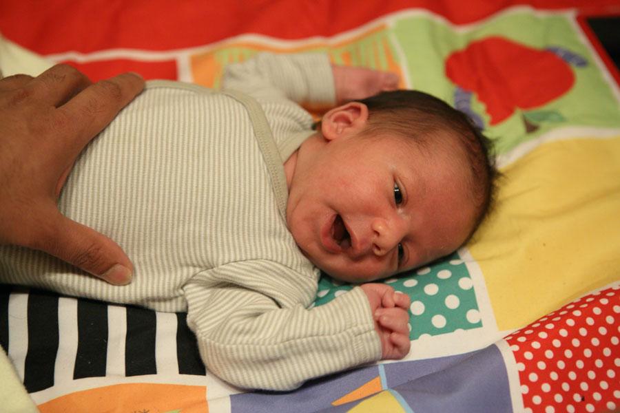 Hugo smiling some more