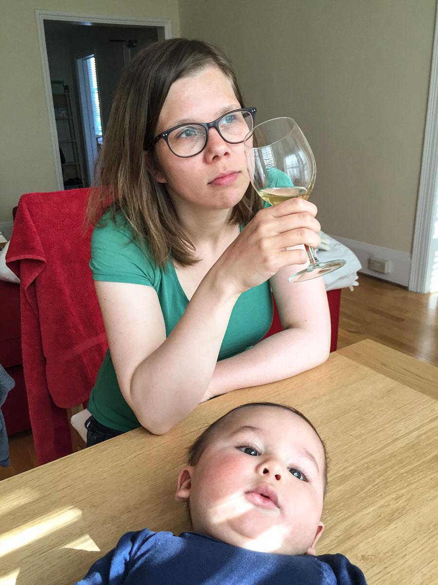 Postpartum Mama